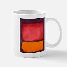 ROTHKO ORANGE RED PURPLE Mugs