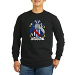 Annesley Family Crest Long Sleeve Dark T-Shirt