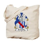 Annesley Family Crest Tote Bag