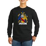 Angell Family Crest Long Sleeve Dark T-Shirt