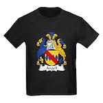 Angell Family Crest Kids Dark T-Shirt