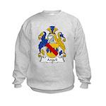 Angell Family Crest Kids Sweatshirt