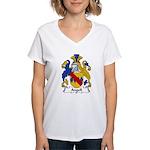 Angell Family Crest Women's V-Neck T-Shirt