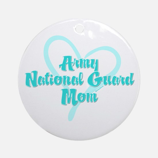 ARNG Mom Ornament (Round)