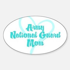 ARNG Mom Oval Decal