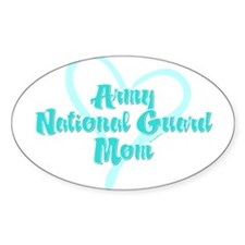 ARNG Mom Oval Stickers