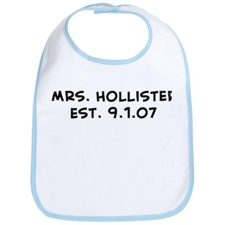Mrs. Hollister Est. 9.1.07 Bib