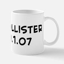 Mrs. Hollister Est. 9.1.07  Mug