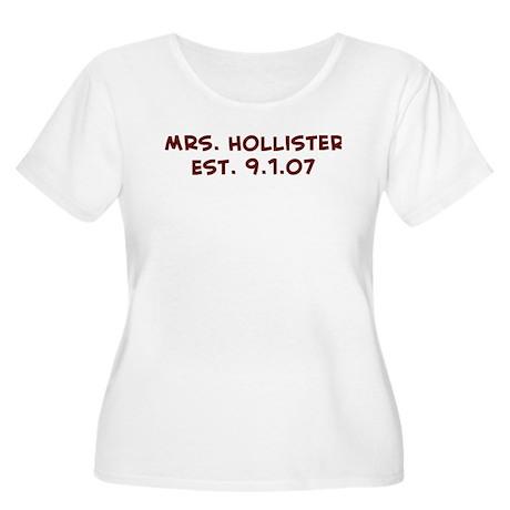 Mrs. Hollister Est. 9.1.07 Women's Plus Size Scoo