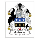 Andrew Family Crest Small Poster