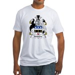 Andrew Family Crest Fitted T-Shirt
