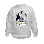 Andrew Family Crest Kids Sweatshirt