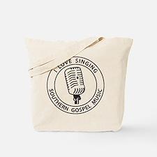"""I Love Singing SGM""  Tote Bag"