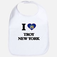 I love Troy New York Bib