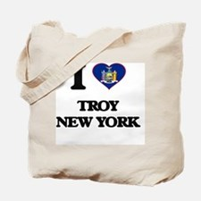 I love Troy New York Tote Bag