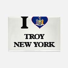 I love Troy New York Magnets