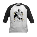 Ames Family Crest Kids Baseball Jersey