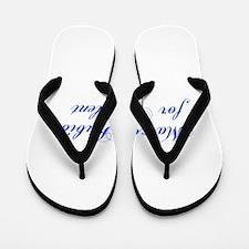 Marco Rubio for President-Cho blue 300 Flip Flops