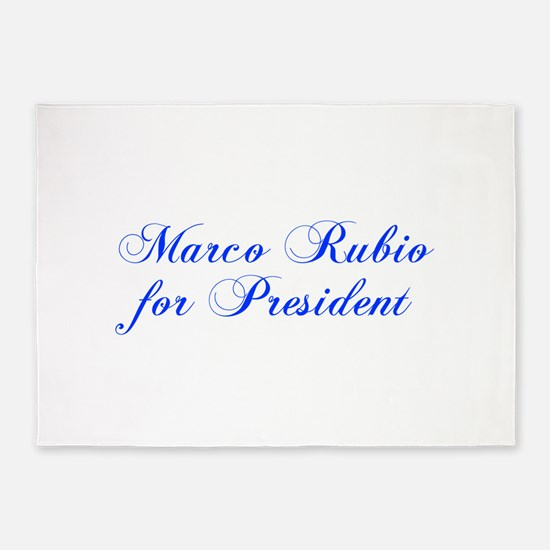 Marco Rubio for President-Cho blue 300 5'x7'Area R