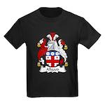 Allgood Family Crest  Kids Dark T-Shirt