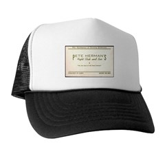 Pete Herman's Night Club & Bar Trucker Hat
