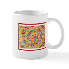 Retro Square Dot Spiral Mug