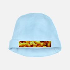 macaroni cheese baby hat