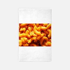 macaroni cheese Area Rug