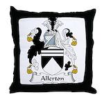 Allerton Family Crest Throw Pillow