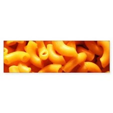 macaroni cheese Bumper Bumper Sticker