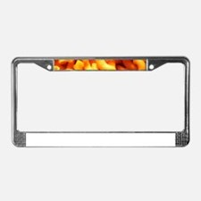 macaroni cheese License Plate Frame