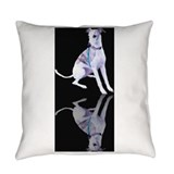 Whippet Burlap Pillows