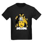 Allen Family Crest Kids Dark T-Shirt
