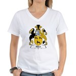Allen Family Crest Women's V-Neck T-Shirt