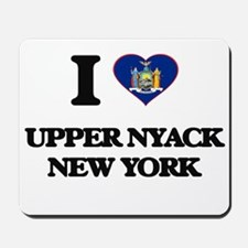 I love Upper Nyack New York Mousepad
