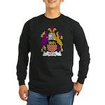 Alfred Family Crest Long Sleeve Dark T-Shirt