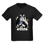 Alexander Family Crest Kids Dark T-Shirt