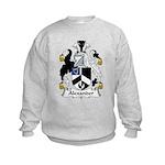 Alexander Family Crest Kids Sweatshirt