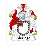 Aldridge Family Crest  Small Poster
