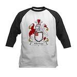 Aldridge Family Crest  Kids Baseball Jersey