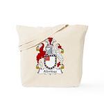 Aldridge Family Crest  Tote Bag
