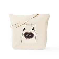 I Love Himalayan Cats Tote Bag