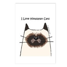I Love Himalayan Cats Postcards (Package of 8)