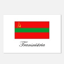 Transnistria - Flag Postcards (Package of 8)