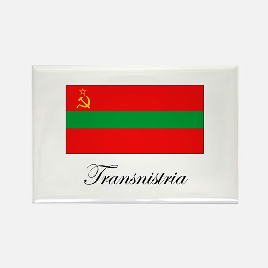 Transnistria - Flag Rectangle Magnet
