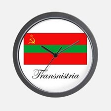 Transnistria - Flag Wall Clock