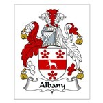 Albany Family Crest  Small Poster
