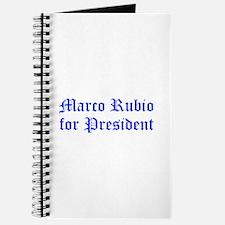 Marco Rubio for President-Old blue 400 Journal