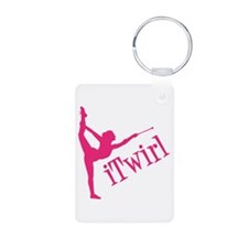 iTWIRL (both sides) Keychains