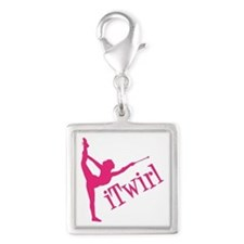 iTWIRL Silver Square Charm